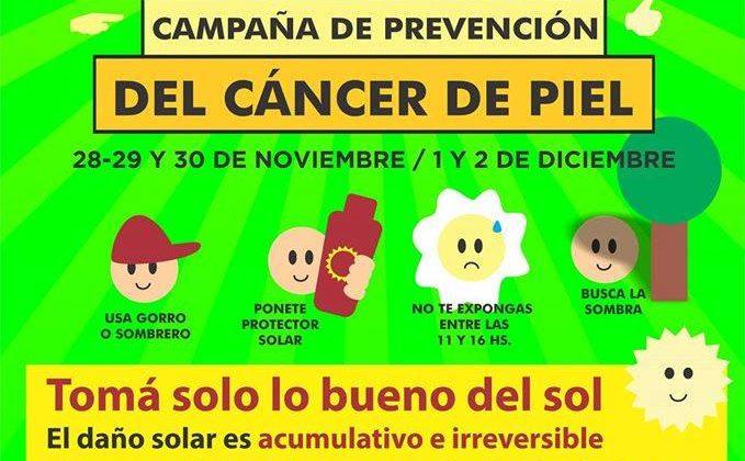 Campaña de Prevención del Cáncer de Piel 2016