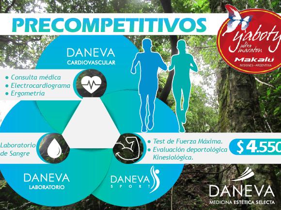 Precompetitivos Ultra Maratón Yaboty 2017